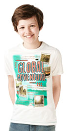 Pure Cotton Global Adventure T-Shirt