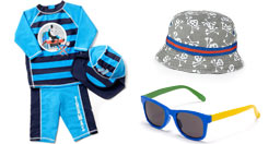 Younger Boys' Sun Protection