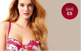 Love Lingerie, Save £5 when you spend £30