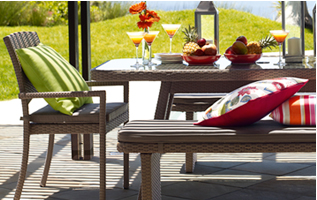 30% off Outdoor Furniture*