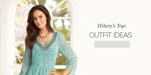 Hilary's Top: Outfit Ideas