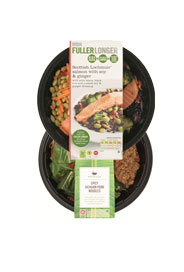 Selected meals buy one get one half price