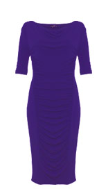 Twiggy for M&S Woman Cowl Neck Drape Dress