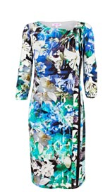Per Una Floral Bodycon Dress
