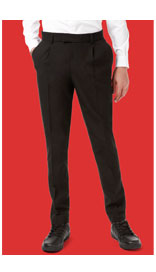 Senior Boys' Pleat Front Skinny Trousers with Stormwear+™ £8.00 - £12.00