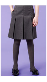 Slim Fit Girls' Traditional Skirt with Permanent Pleats £7.20 - £12.00