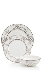 12 Piece Pavilion Swirl Dinner Set £149.00