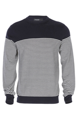 Pure Cotton Feeder Striped Jumper