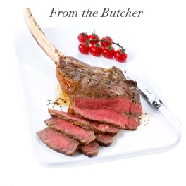 Shop the tomahawk steak