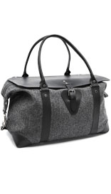 Best of British Pure Wool Large Herringbone Holdall £229