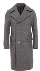 Best of British Pure Wool Double Breasted Trench Coat £299