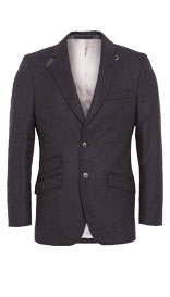 Best of British Pure Wool 2 Button Twill Jacket £299