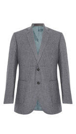 Big & Tall Pure Wool 2 Button Puppytooth Jacket £99