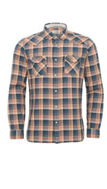 Pure Cotton Textured Checked Shirt
