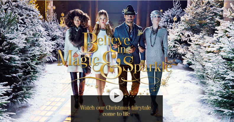 Believe in Magic & Sparkle - Watch our Christmas fairytale come to life