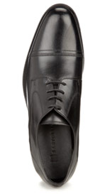 Sartorial Leather Toe Cap Shoes
