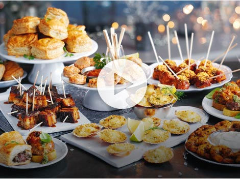Christmas Food TV Ad
