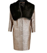 per una Speziale Metallic Coat, £149