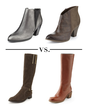 Style Debate: Ankle vs Knee Boots