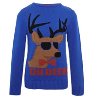 Pure Cotton Oh Deer! Jumper