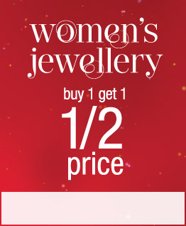 Women's Jewellery Buy 1 Get 1 Half Price