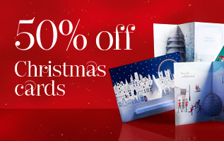 50% off Christmas Cards