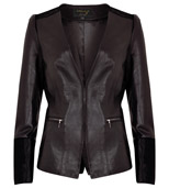 per una Speziale Leather & Cow Hide Jacket, £299