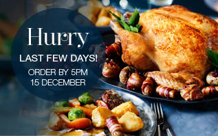 Christmas Food to Order, Hurry last few days, ends 15th Dec 5pm