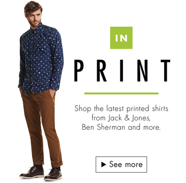Men's Fashion: Micro Print Shirts