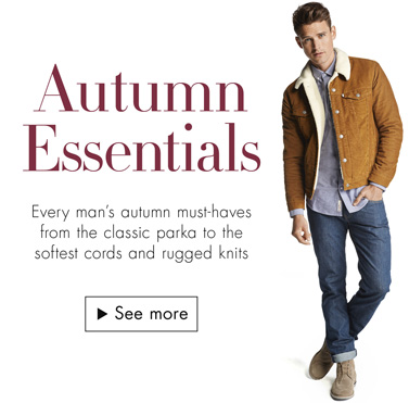 Men's Fashion: Autumn Essentials
