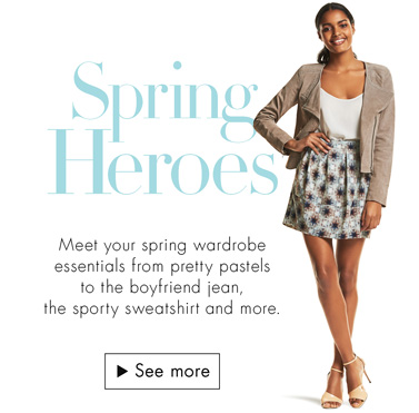 Women's Fashion: Spring Heroes