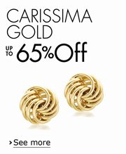 Up to 65% Off Carissima Gold