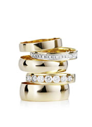 Wedding and engagement jewellery