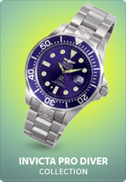 Invicta Pro Diver watches