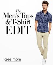Men's Tops & T-Shirt Edit
