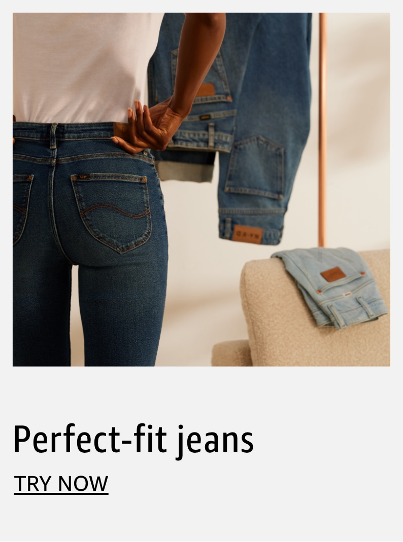 Perfect-fit jeans