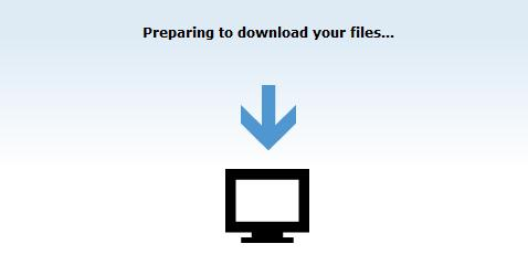 Download files from Cloud Drive option