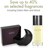 Up to 40% off Fragrances including Calvin Klein and Ghost