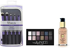 Up to 40% off Make Up & Tools bestsellers from Real Techniques, L'Oreal, Max Factor and more