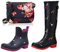 Up to 50% off Joules Shoes and Bags