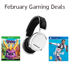 February Savings on Gaming