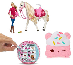 Up to 30% off Barbie, L.O.L, and more