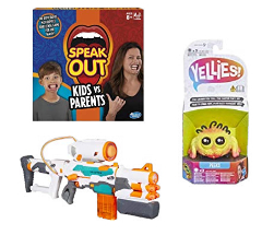 Up to 50% off NERF, Yellies, Speak Out and more