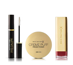 Up to 20% off Max Factor Bestsellers