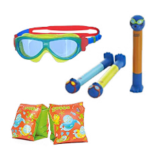 Up to 25% off selected Zoggs goggles, pool toys and more