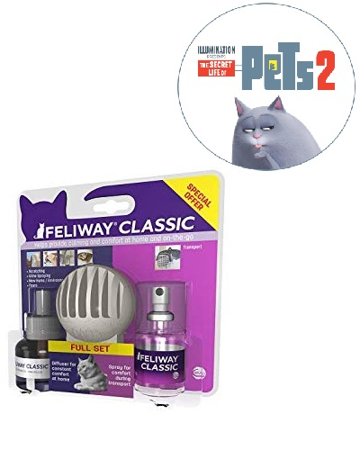 Save on Feliway Classic Spray/Diffuser and Refill, 20 ml and more