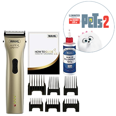 Save on Wahl Super Groom Premium Pet Clipper and more