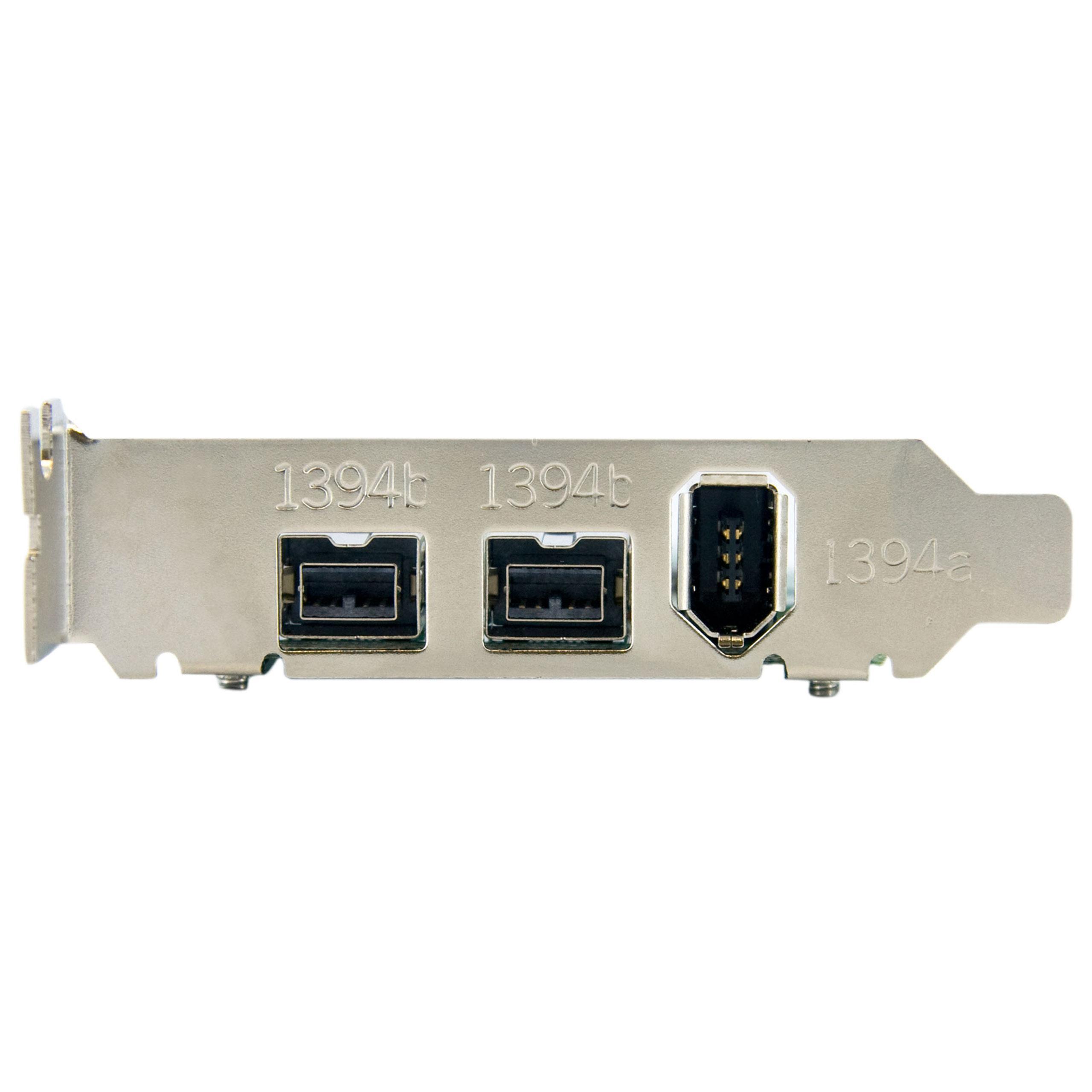 StarTech.com 3 Port 2b 1a Low Profile 1394 PCI Express: Amazon.co.uk ...