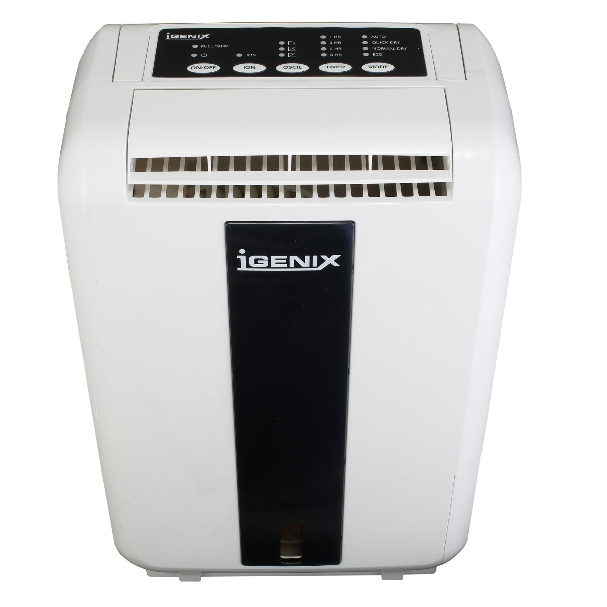 Igenix IG9807 Portable Desiccant Dehumidifier 7 L White: Amazon.co  #595043