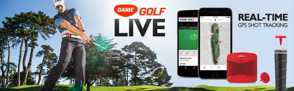 game golf live tracking device red 691041694152 ebay. Black Bedroom Furniture Sets. Home Design Ideas